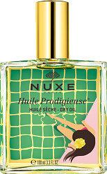Nuxe Huile Prodigieuse Multi-Purpose Dry Oil Spray - Face, Body and Hair 100ml - Yellow Edition