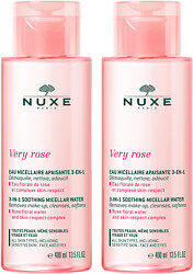 Nuxe Very Rose 3-in-1 Hydrating Micellar Water Duo 2 x 400ml