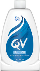 QV Bath Oil For Dry Itching Skin Conditions 500ml
