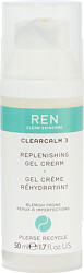 REN ClearCalm 3 Replenishing Gel Cream 50ml with box