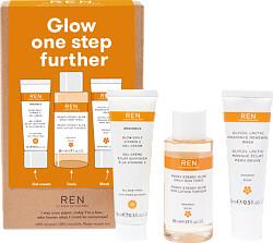 REN Radiance Glow one step further Gift Set
