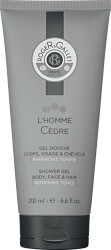 Roger & Gallet L'Homme Cedre Body, Face & Hair Shower Gel 200ml