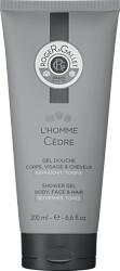 Roger & Gallet L'Homme Cedre Body, Face & Hair Shower Gel 200ml