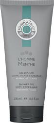 Roger & Gallet L'Homme Menthe Body, Face & Hair Shower Gel 200ml