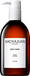 Sachajuan Body Wash - Shiny Citrus 500ml