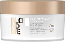 Schwarzkopf Professional BlondMe All Blondes Detox Mask 200ml