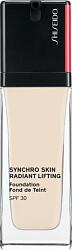 Shiseido Synchro Skin Radiant Lifting Foundation SPF30 30ml 110 Alabaster