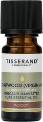 Tisserand Aromatherapy Cedarwood (Virginian) Ethically Harvested Pure Essential Oil 9ml