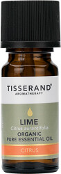 Tisserand Aromatherapy Lime Organic Pure Essential Oil 9ml