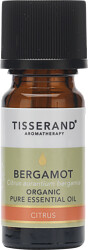 Tisserand Aromatherapy Bergamot Organic Pure Essential Oil 9ml
