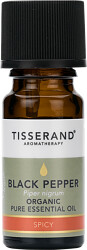 Tisserand Aromatherapy Black Pepper Organic Pure Essential Oil 9ml