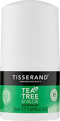 Tisserand Aromatherapy Tea Tree & Aloe 24 Hour Protection Deodorant 50ml