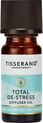 Tisserand Aromatherapy Total De-Stress Diffuser Oil Blend 9ml