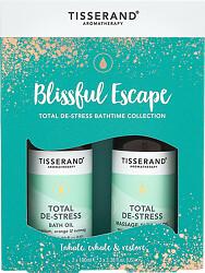 Tisserand Aromatherapy Blissful Escape Total De-Stress Bathtime Collection 2 x 100ml