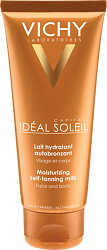 Vichy Ideal Soleil Self Tanner Face and Body Moisturising Milk 100ml