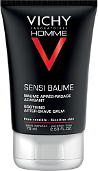 Vichy Homme Sensi Baume After Shave Balm for Sensitive Skin 75ml