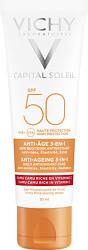 Vichy Capital Soleil Anti-Ageing 3-In-1 Daily Antioxidant Care SPF50 50ml