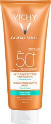 Vichy Capital Soleil Fresh Protective Milk SPF50+ 300ml