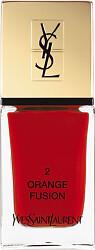 Yves Saint Laurent La Laque Couture Nail Lacquer 10ml 2 - Orange Fusion