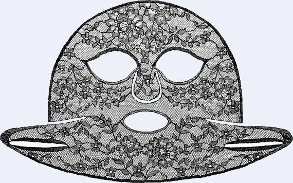GIVENCHY Le Soin Noir Masque Dentelle - Lace Face Mask 4 x 18ml