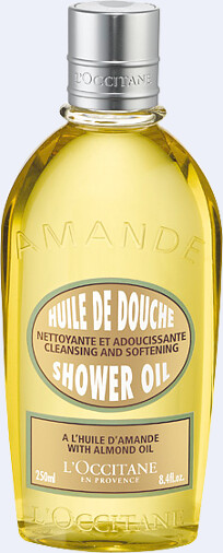 L'Occitane Almond Cleansing and Softening Shower Oil 250ml