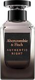 Abercrombie & Fitch Authentic Night For Men Eau de Toilette Spray 100ml