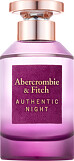 Abercrombie & Fitch Authentic Night For Women Eau de Parfum Spray 100ml