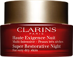 Clarins Super Restorative Night Wear For Very Dry Skin 50ml