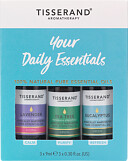 Tisserand Aromatherapy Your Everyday Essentials Oils Kit 3 x 9ml