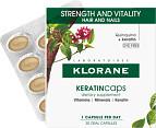 Klorane Keratin Caps Strength & Vitality Hair and Nails 30 Capsules