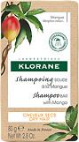 Klorane Mango Butter Solid Shampoo Bar 80g