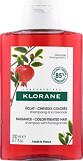 Klorane Pomegranate Radiance Shampoo for Colour-Treated Hair 200ml