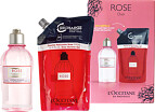 L'Occitane Rose Shower Gel and Eco-Refill Duo Gift Set