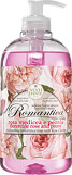 Nesti Dante Romantica Florentine Rose and Peony Liquid Soap 500ml