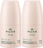 Nuxe Body Reve de the Fresh-Feel Deodorant 2 x 50ml