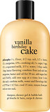 Philosophy Vanilla Birthday Cake Shampoo, Shower Gel & Bubble Bath 480ml