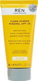 REN Clean Screen Mineral Sunscreen SPF30 50ml