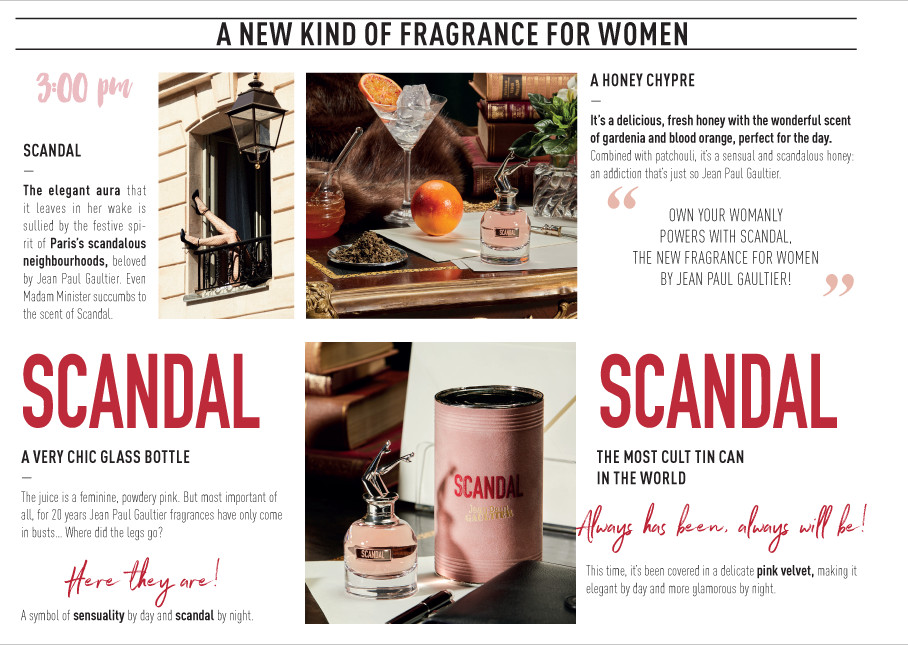 A new kind of fragrance for women