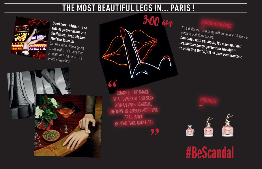 The most beautiful legs in... Paris! #BeScandal